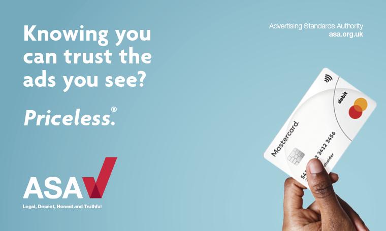 ASA ad campaign (ls) - Mastercard