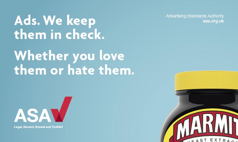 ASA ad campaign (ls) - Marmite