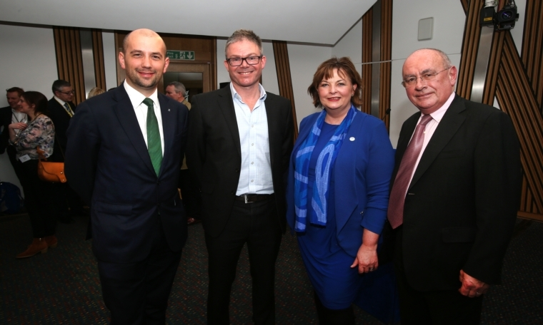 Chairman's speech at first ASA Scottish Parliament reception